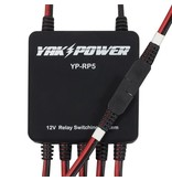 """YakPower Power Port With 96"""" (8') Wire & SAE Connector"""