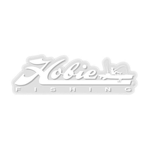 "Hobie Decal ""Hobie Fishing"" White 12"""