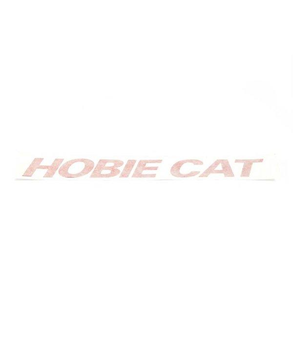 Hobie Decal Hobie Cat Red