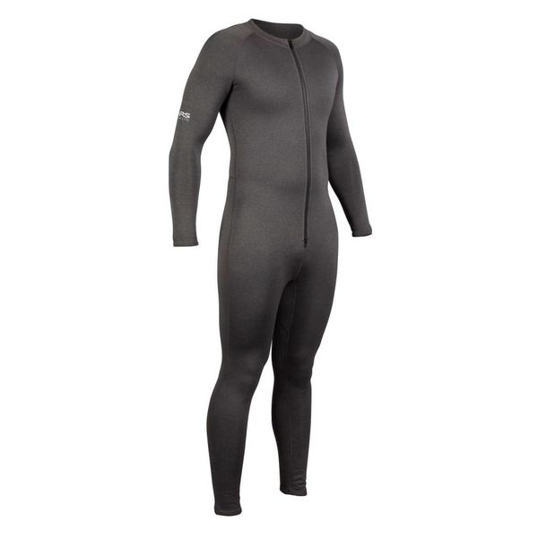 Expedition Union Suit Charcoal Heather