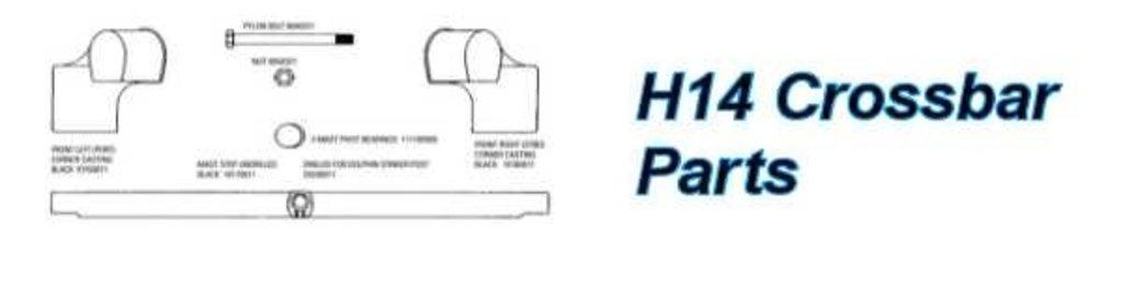 Hobie 14 Crossbar Parts