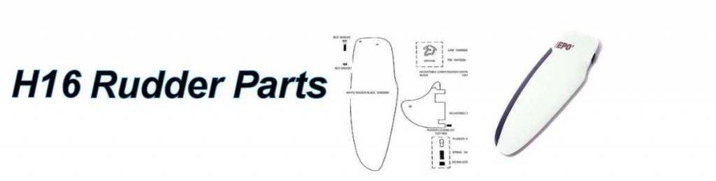 Hobie 16 Rudder Parts