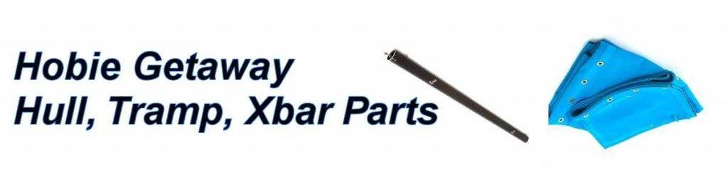 Hobie Getaway Hull, Trampoline & Crossbar Parts