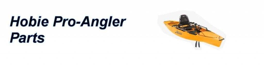Hobie Pro Angler Parts