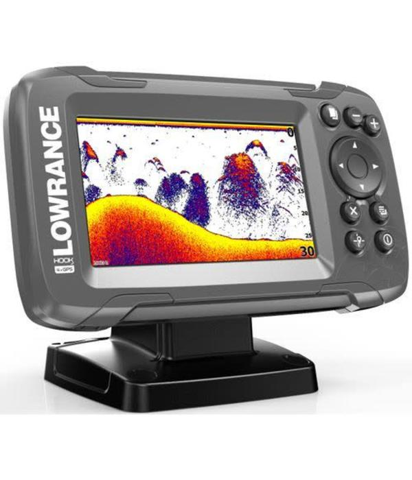 Lowrance Fishfinder Hook2 4X GPS