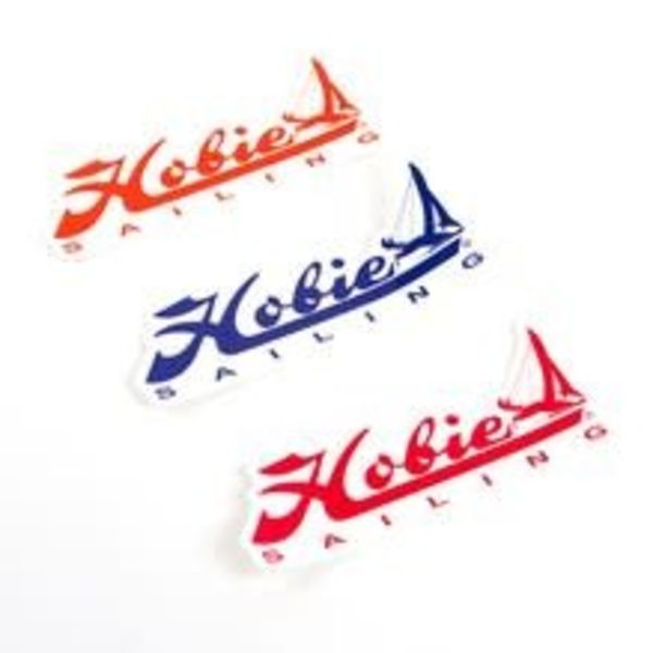 "Decal ""Hobie Sailing"" Blue/Red/Orange 12"""