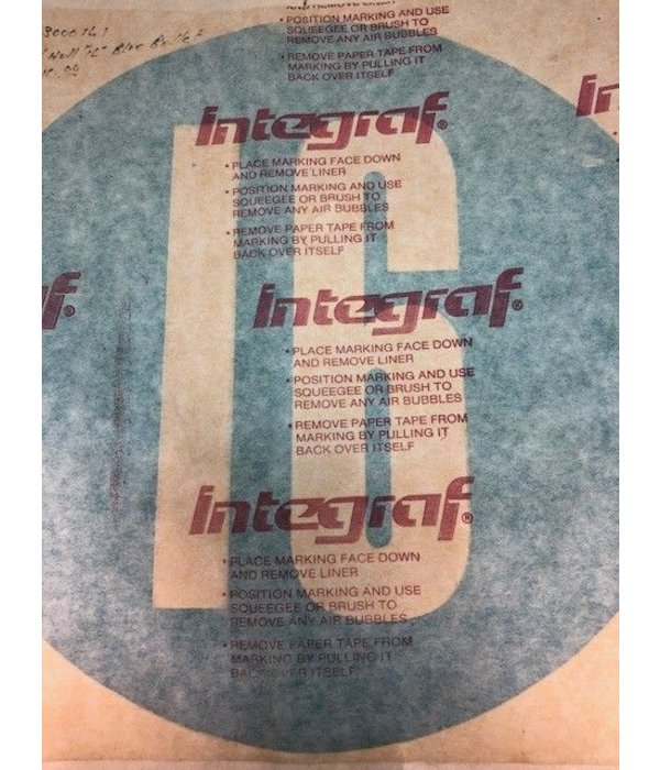 """Hobie (Discontinued) Decal """"H16"""" Hull"""