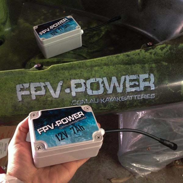 Lithium 7 Ah Kayak Battery & Charger