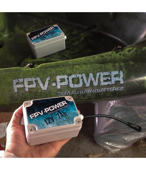 FPV-Power 7Ah Waterproof IP67 Rated Lithium Battery & Charger
