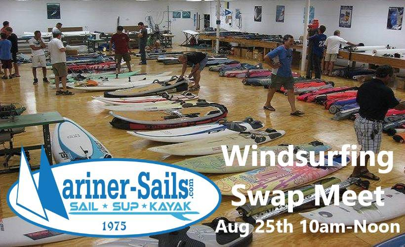 Mariner Sails Windsurfing Swap Meet