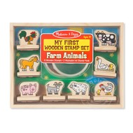 Melissa & Doug Melissa & Doug My First Wooden Stamp Set - Farm Animals