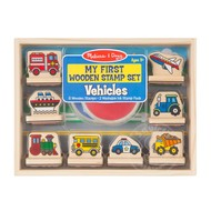 Melissa & Doug Melissa & Doug My First Wooden Stamp Set - Vehicles