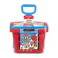 Melissa & Doug Melissa & Doug Fill & Roll Grocery Basket Play Set