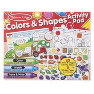 Melissa & Doug Melissa & Doug Colors & Shapes Activity Pad