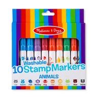 Melissa & Doug Melissa & Doug 10 Stamp Markers Animals