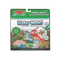 Melissa & Doug Melissa & Doug On the Go Water Wow! Animal Antics Deluxe