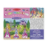 Melissa & Doug Melissa & Doug Color-Your-Own Sticker Pad Dress-Up