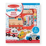 Melissa & Doug Melissa & Doug Created by Me! Rescue Vehicles