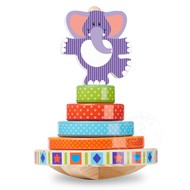Melissa & Doug Melissa & Doug First Play Elephant Rocking Stacker