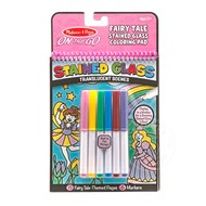 Melissa & Doug Melissa & Doug On the Go Stained Glass Coloring Pad - Fairy Tale