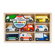 Melissa & Doug Melissa & Doug Wooden Town Vehicles