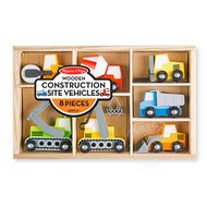 Melissa & Doug Melissa & Doug Wooden Construction Site Vehicles