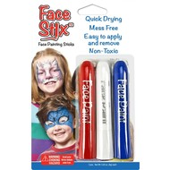 The Pencil Grip Face Stix Face Paint 3 Pack