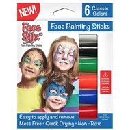 The Pencil Grip Face Stix Face Paint 6 Pack
