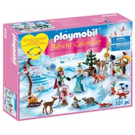 Playmobil Playmobil Advent Calendar Royal Ice Skating Trip