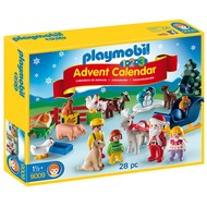 Playmobil Playmobil 123 Advent Calendar Christmas on the Farm RETIRED