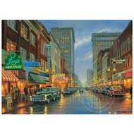 Cobble Hill Puzzles Cobble Hill A Grand Night in Steubenville Puzzle 500pcs