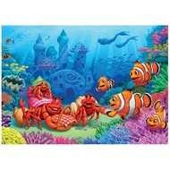 Cobble Hill Puzzles Cobble Hill Clownfish Gathering Tray Puzzle 35pcs