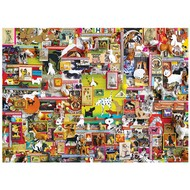 Cobble Hill Puzzles Cobble Hill Dogtown Puzzle 1000pcs