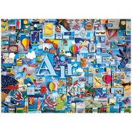 Cobble Hill Puzzles Cobble Hill Air: The Elements Collection Puzzle 1000pcs