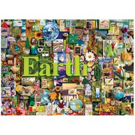 Cobble Hill Puzzles Cobble Hill Earth: The Elements Collection Puzzle 1000pcs