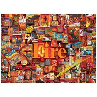 Cobble Hill Puzzles Cobble Hill Fire: The Elements Collection Puzzle 1000pcs