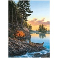 Cobble Hill Puzzles Cobble Hill Evening Glow Puzzle 1000pcs