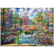 Cobble Hill Puzzles Cobble Hill Amsterdam Canal Puzzle 1000pcs