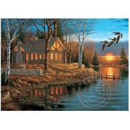 Cobble Hill Puzzles Cobble Hill Rest Stop Puzzle 1000pcs