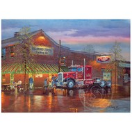 Cobble Hill Puzzles Cobble Hill Big Red Puzzle 1000pcs