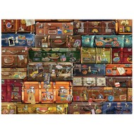 Cobble Hill Puzzles Cobble Hill Luggage Puzzle 1000pcs