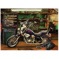 Cobble Hill Puzzles Cobble Hill Chopper Puzzle 1000pcs