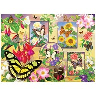 Cobble Hill Puzzles Cobble Hill Butterfly Magic Puzzle 500pcs