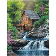 Cobble Hill Puzzles Cobble Hill Spring Mill Easy Handling Puzzle 275pcs