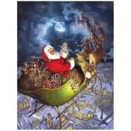 Cobble Hill Puzzles Cobble Hill Merry Christmas to All Easy Handling Puzzle 275pcs