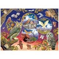 Cobble Hill Puzzles Cobble Hill Owl Magic Puzzle 1000pcs
