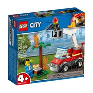 LEGO® LEGO® 4+ City Barbecue Burn Out