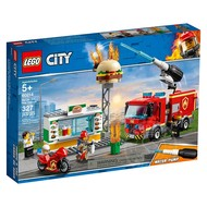 LEGO® LEGO® City Burger Bar Fire Rescue