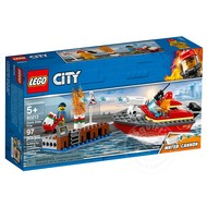 LEGO® LEGO® City Dock Side Fire _