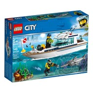 LEGO® LEGO® City Diving Yacht